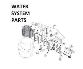 Max-E-Therm SR400NA Water System PARTS