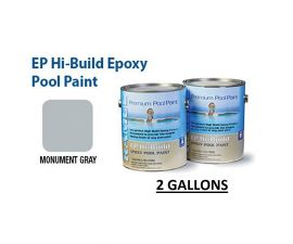 RAMUC, Hi-Build Epoxy Premium Epoxy Monument Gray Pool Paint, RAM912237702