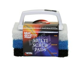 Blue Devil, Multi Scrub with interchangeable Pads, B8433