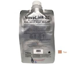 Chemlink, Novalink SL Pool Deck Self-Leveling Sealant, Tan/Stone color, F1239ST