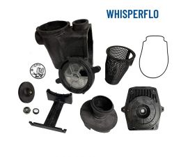 Pentair 357149 Replacement Kit by PC&G Black Complete 2.0 HP WhisperFlo Wet End 350015