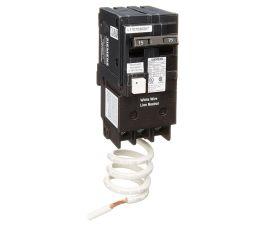 Siemens 2 Pole 15 Amp GFCI Circuit Breaker, QF215A