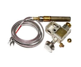 Raypak, 185B/C and 256 B/C Millivolt Heater, Natural Gas Pilot w/ Generator, 600525B