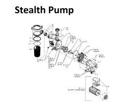 Stealth 1.0HP, 230 Vac, 2 Speed   SHPF1.0-2