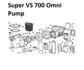 Super Pump VS 700 Omni Pump Parts