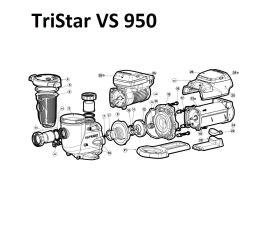 TriStar VS 950 Pump Parts | SP32950VSP