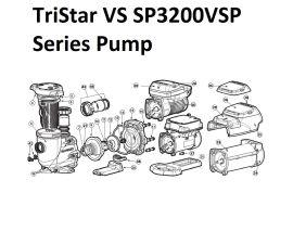 TriStar VS Pump Parts | SP3200VSP Series