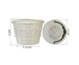 Waterway, Skimmer Basket w/o Handle | 519-3240 | 542-3240 | V50-300 | 25140-000-900 | 27182-019-000