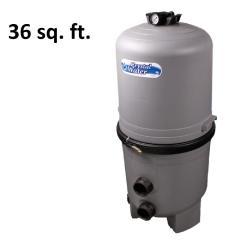 36 sq. ft. Crystal Water DE Filter Parts 570-0036