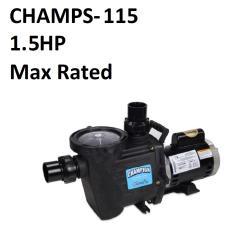 Champion Maximum Rated   115/230V   1.5HP   CHAMPS-115